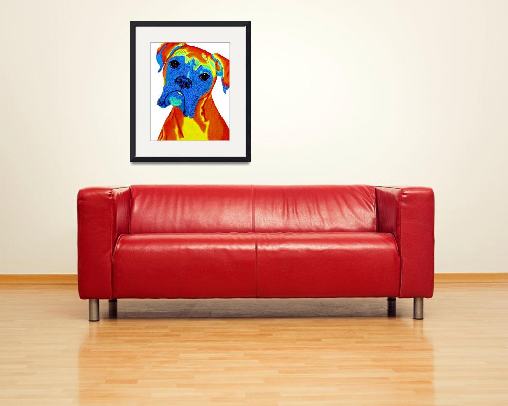 """""""Boxer2""""  (2015) by pennymedders"""