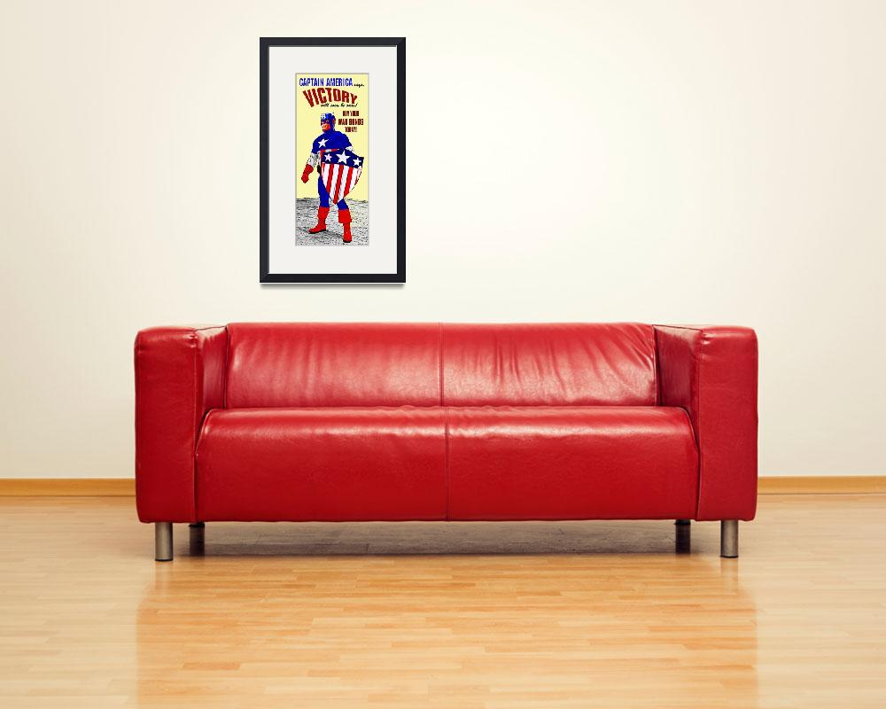 """""""Captain America WWII War Bonds&quot  (2014) by Automotography"""