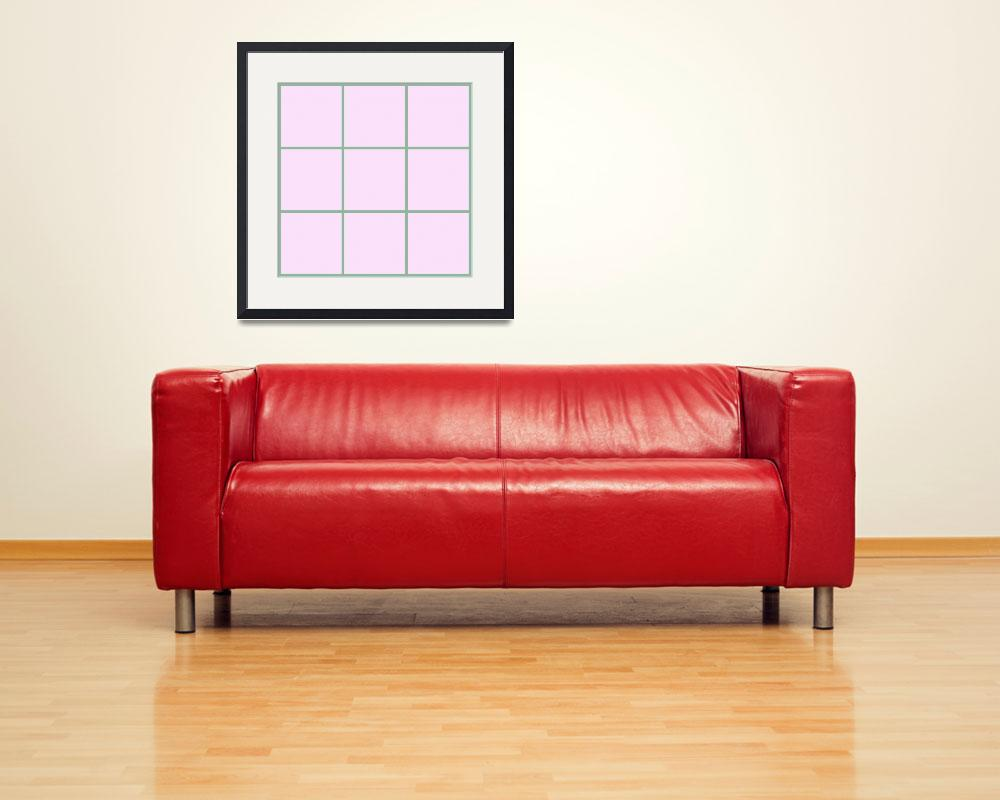 """Pink Window 182 Canvas Contemporary Modern&quot  (2010) by Ricardos"