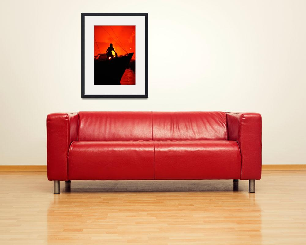 """""""man and red&quot  (2008) by VivianGerogianni"""
