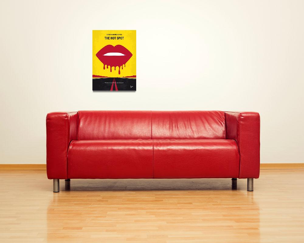 """""""No908 My The Hot Spot minimal movie poster&quot  by Chungkong"""