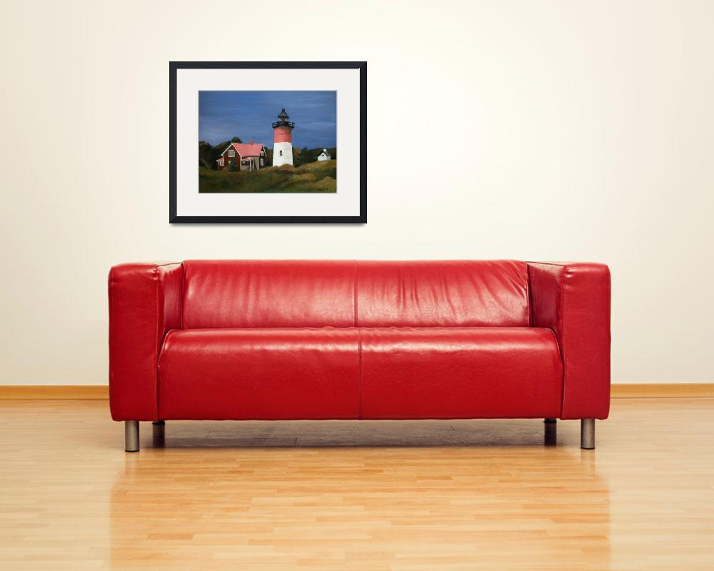 """Nauset Lighthouse&quot  (2011) by JohnSmallStudios"