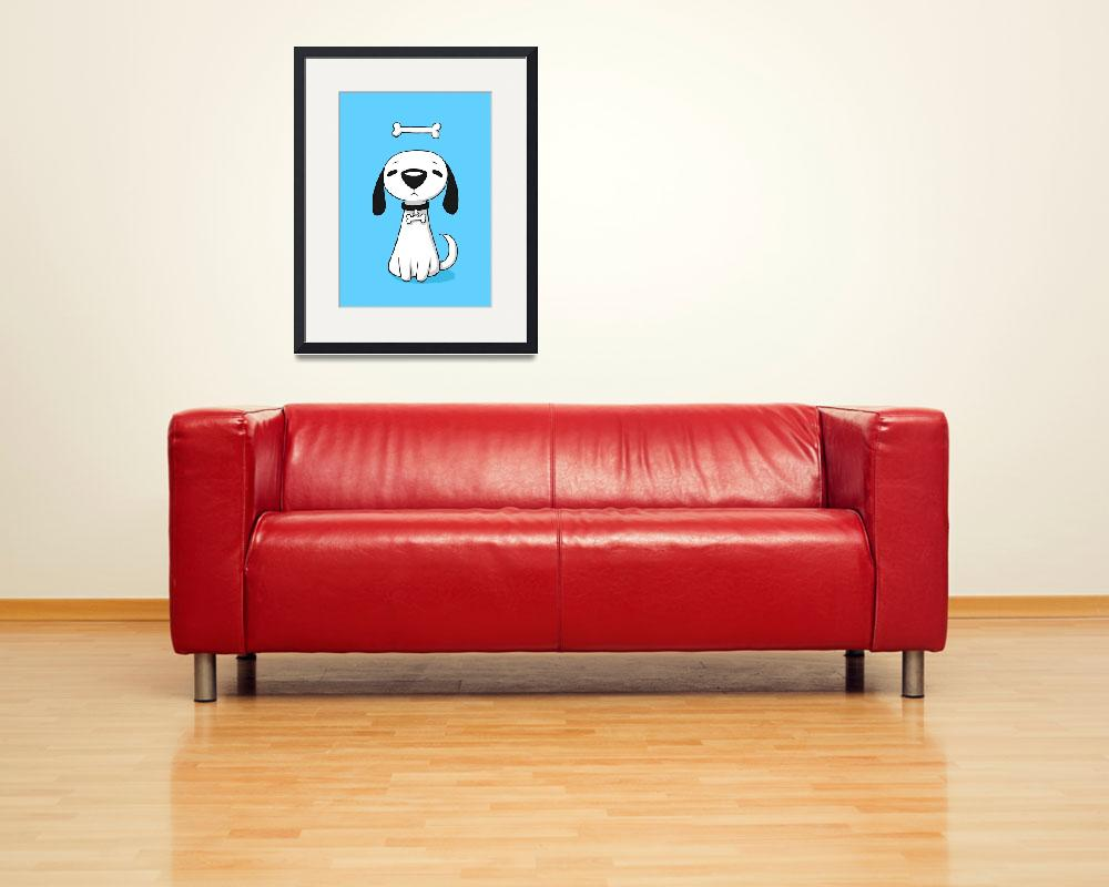 """""""Puppy Bone&quot  (2012) by freeminds"""