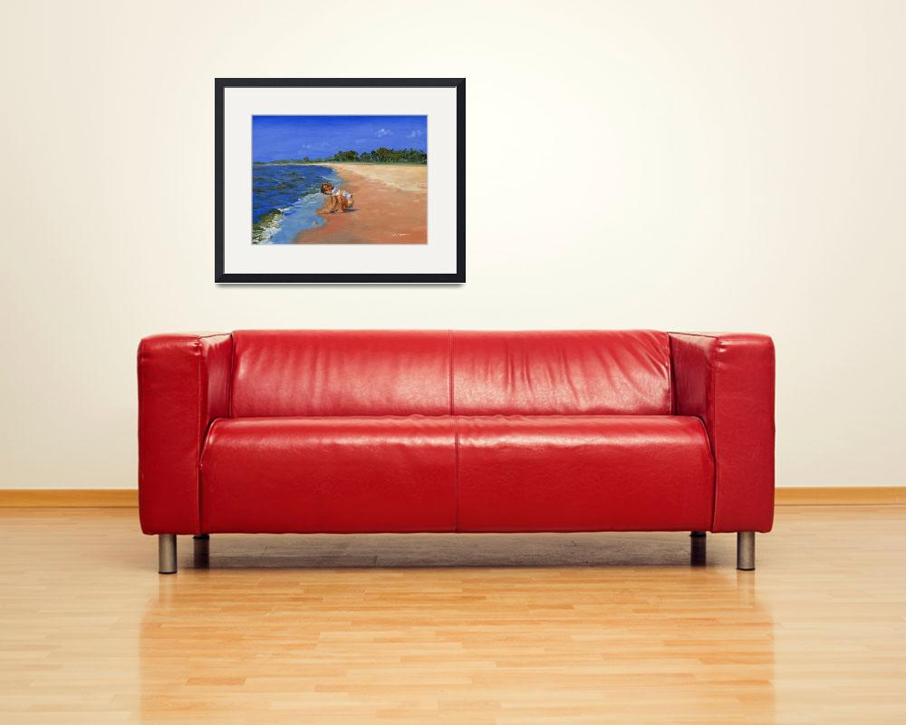 """""""Child At The Beach""""  (2007) by KeatingArt"""