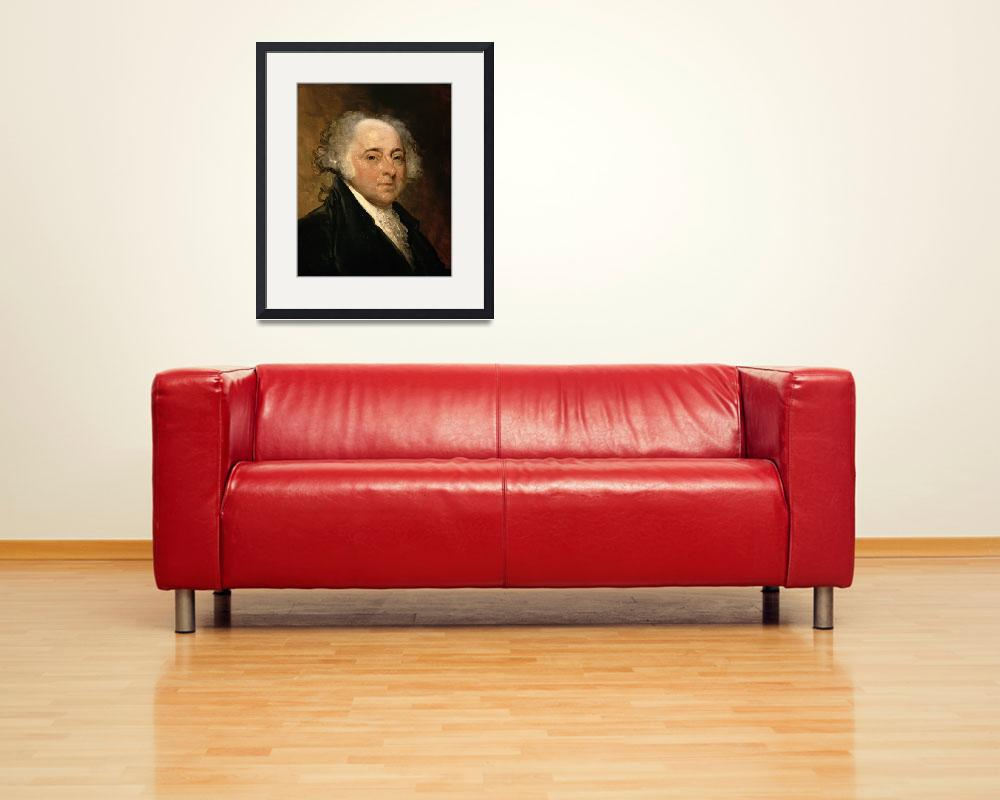 """Portrait of John Adams""  by fineartmasters"