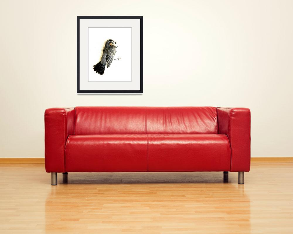 """""""A Bird That Is Dead and Flies""""  (2005) by jasonleslierogers"""