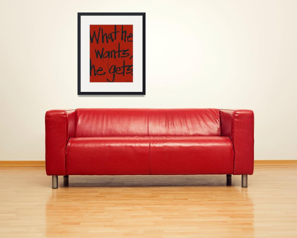"""""""red---type&quot  (2013) by dandywagon"""