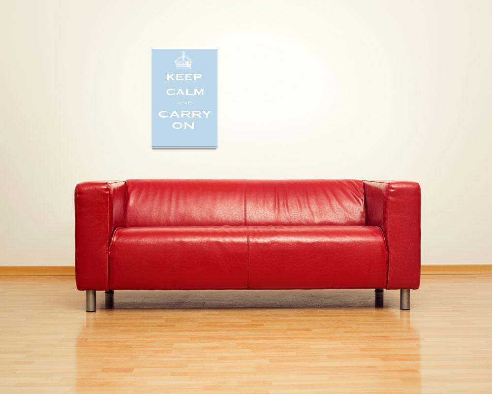 """Keep Calm""  (2009) by rickimountain"
