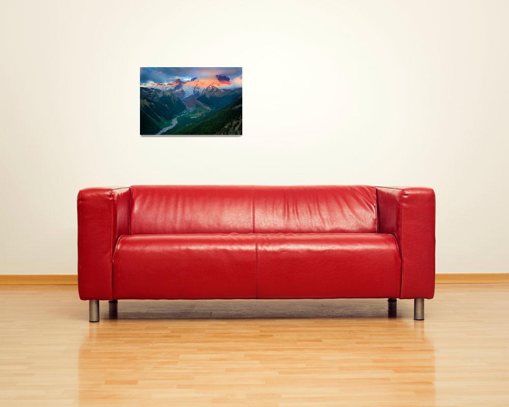 """Mount Rainier before Dawn&quot  (2011) by Inge-Johnsson"