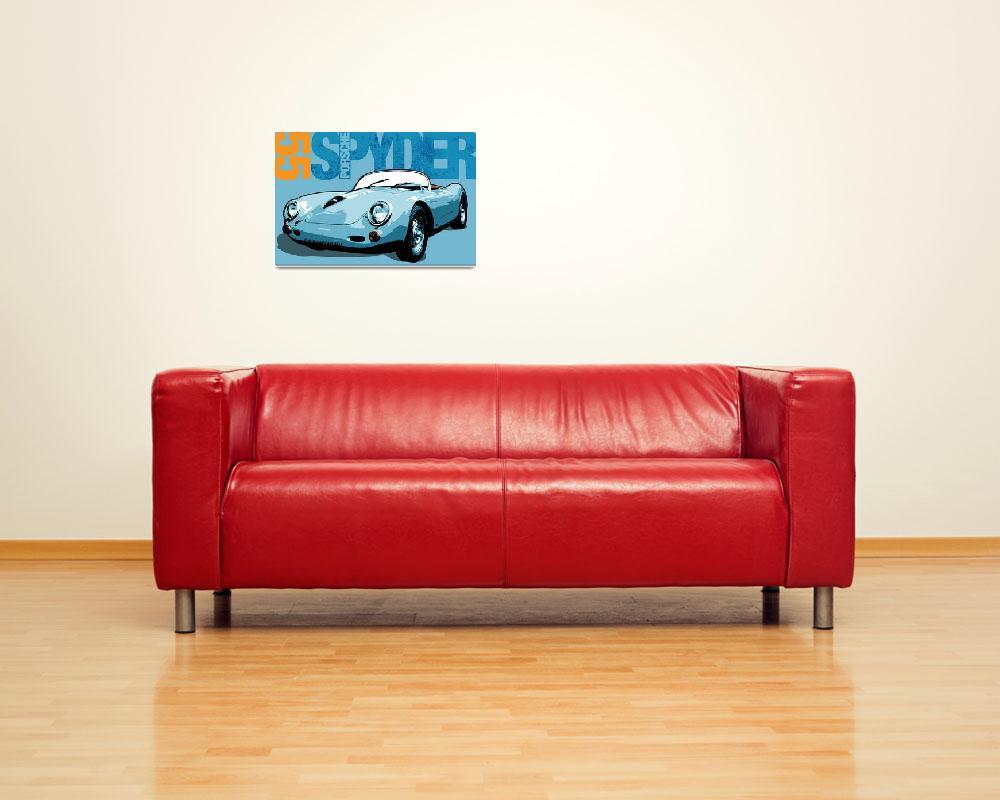 """""""Porsche Spyder""""  (2010) by mediagraffiti"""