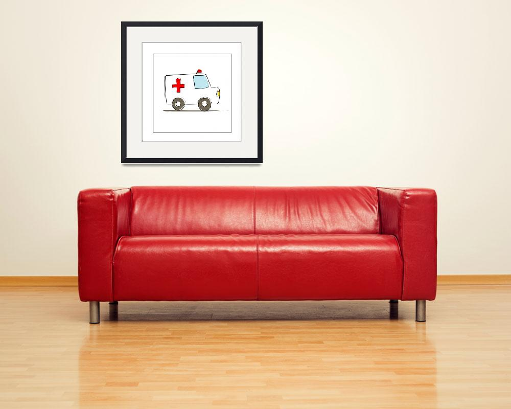 """Ambulance&quot  by artlicensing"