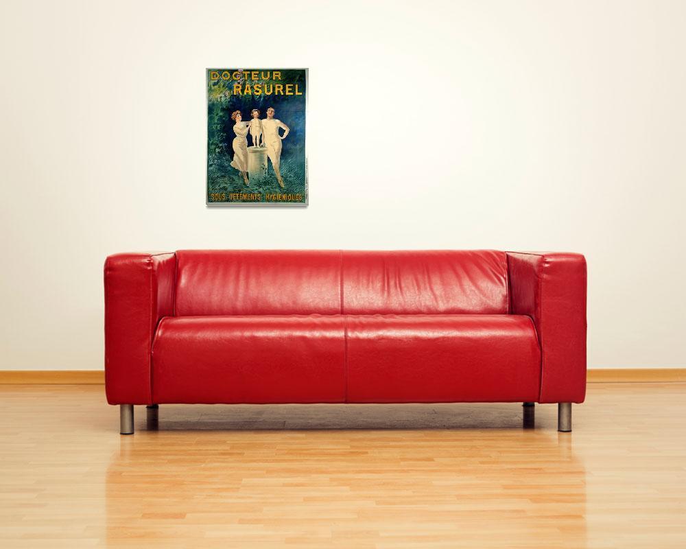 """Docteur Rasurel Vintage Poster BY LEONETTO CAPPIEL""  by FineArtClassics"