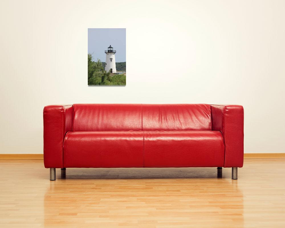 """""""Edgartown Light&quot  (2011) by dunklebob"""
