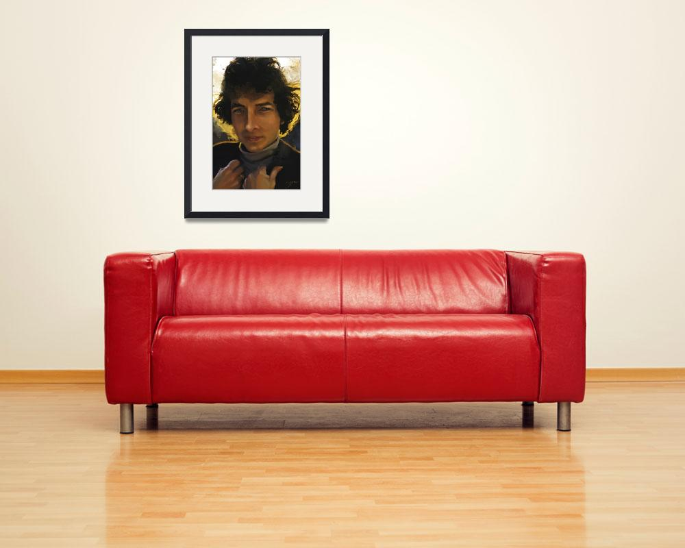 """""""Bob Dylan&quot  (2010) by imotichey"""