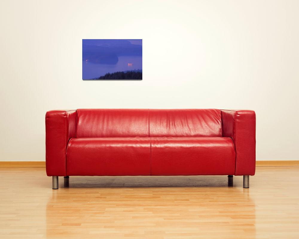 """distant ferries""  by KurtThorson"