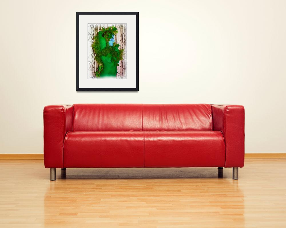 """""""Forest Green&quot  (2010) by marla"""