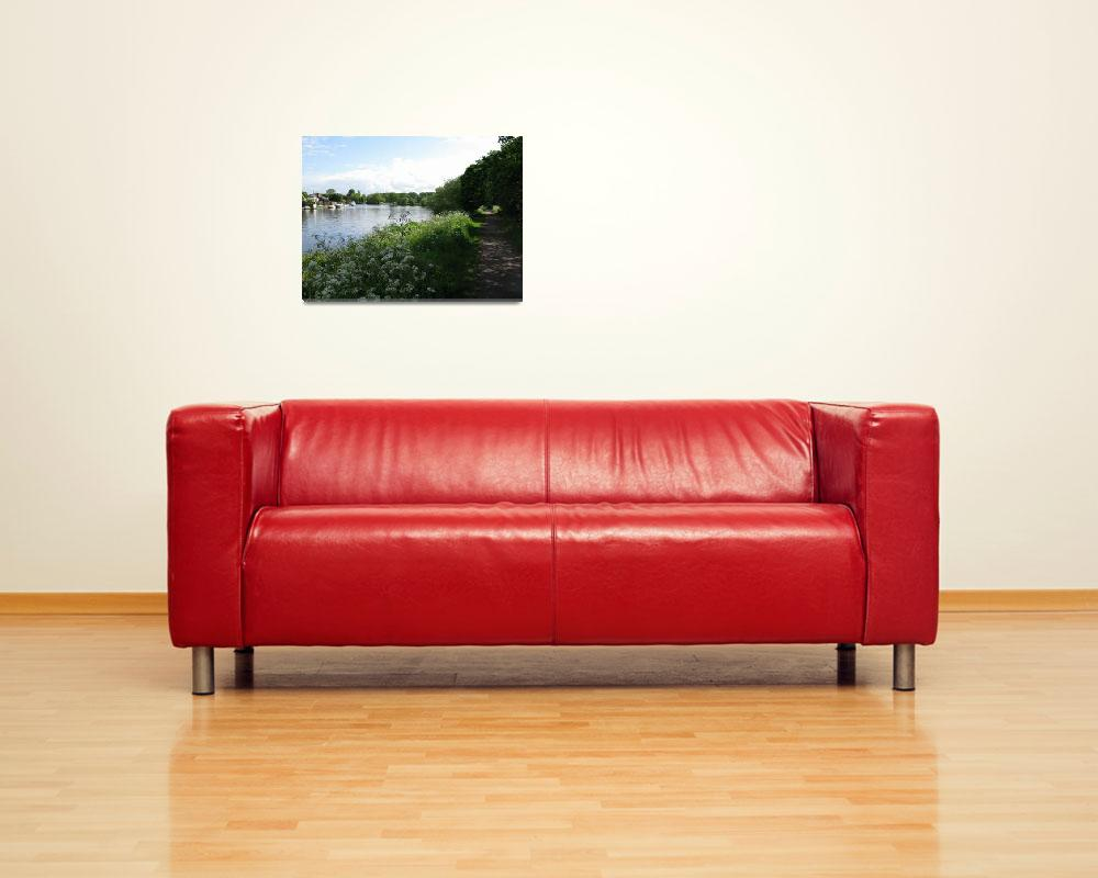 """""""WALTON TOW PATH1""""  (2009) by romarkimages"""