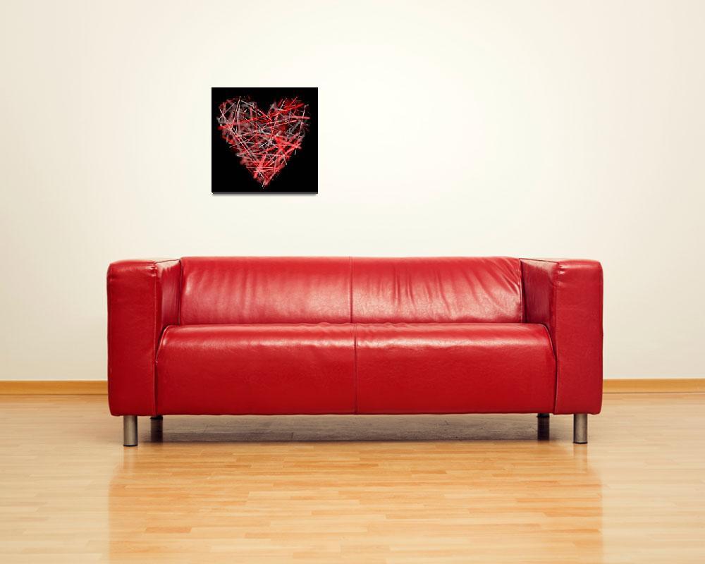 """red heart""  by fsergej"