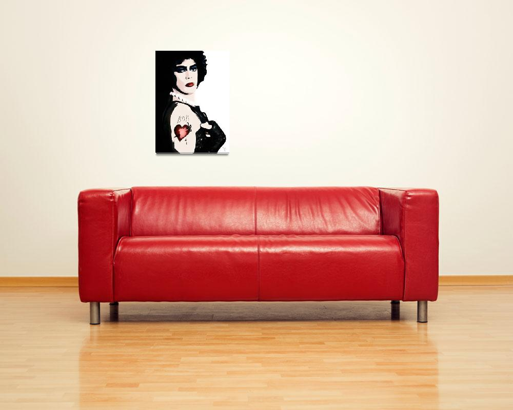 """""""Dr Frank n Furter - Rocky Horror Picture Show&quot  (2016) by wcsmack"""