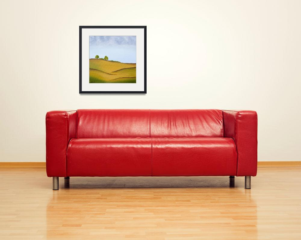 """""""Hills 1&quot  (2008) by QiQiGallery"""
