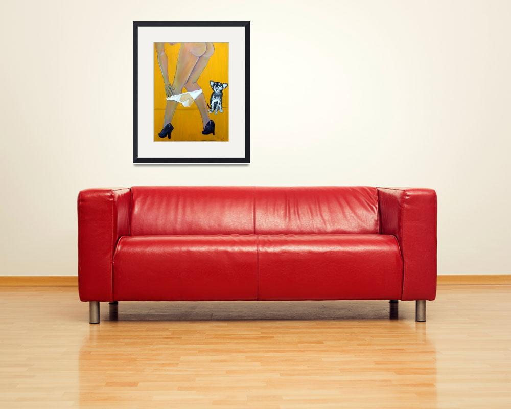 """""""Lap Dog&quot  (2012) by Shearart"""
