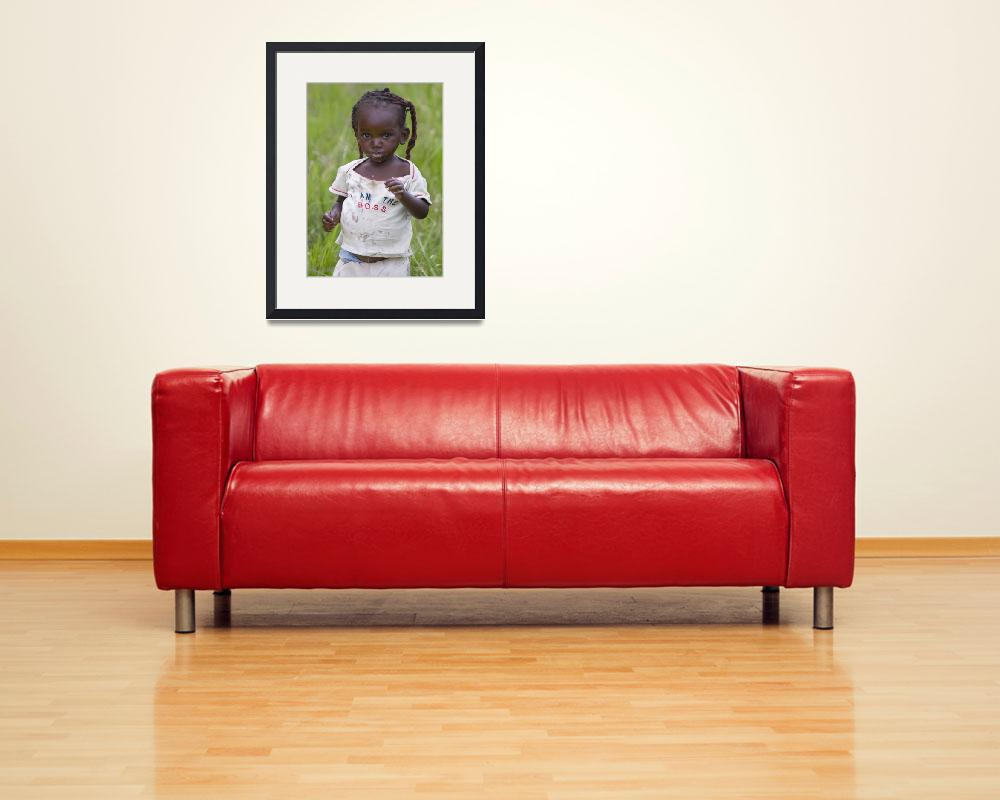 """""""African Baby Boss&quot  (2009) by Mucheni"""