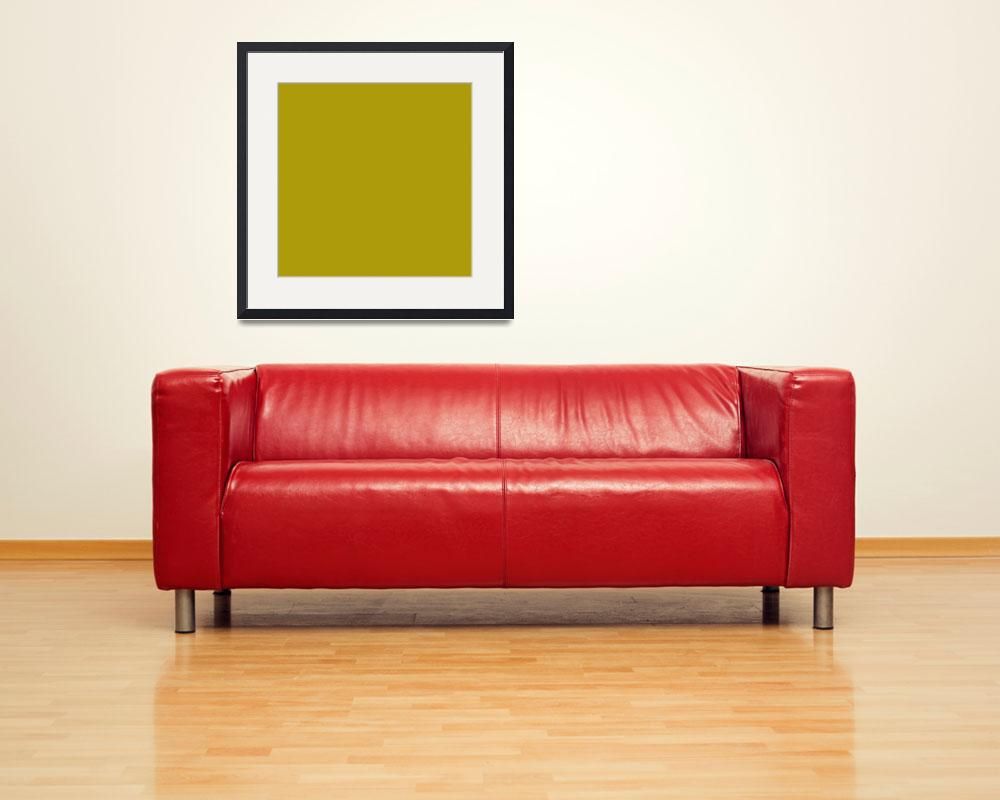 """Square PMS-104 HEX-AD9B0C Gold&quot  (2010) by Ricardos"