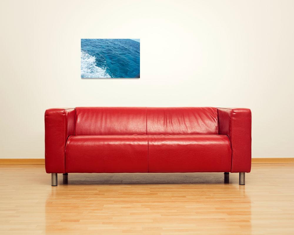 """Blue Blue sea""  (2007) by JoaoFxBraz"