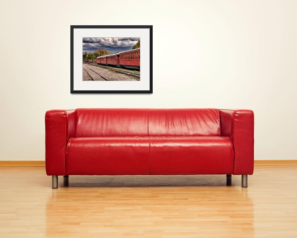 """""""Cumbres and Toltec Railyard&quot  (2011) by clsperkophotos"""