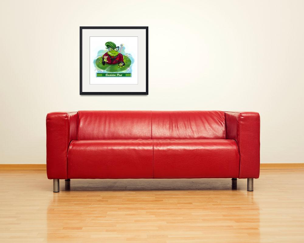 """Frogs in Vegas~Bachelor Pad&quot  (2006) by shariwarren"