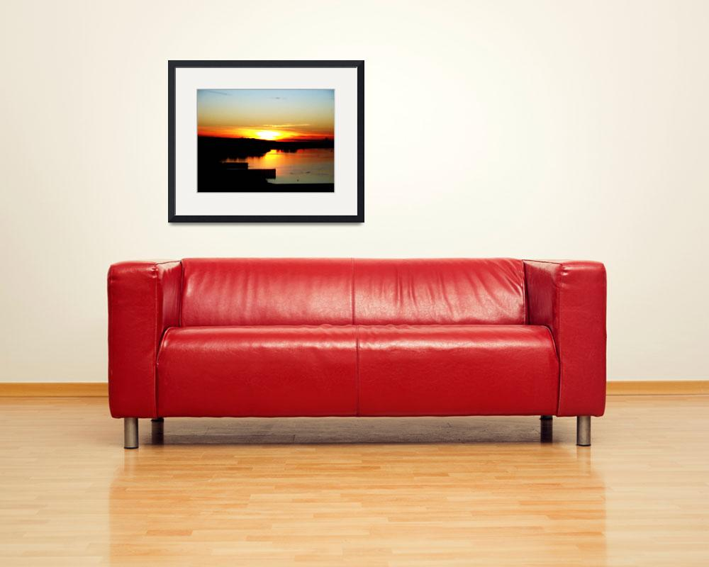 """""""Sunset by the Columbia River&quot  (2010) by lika"""