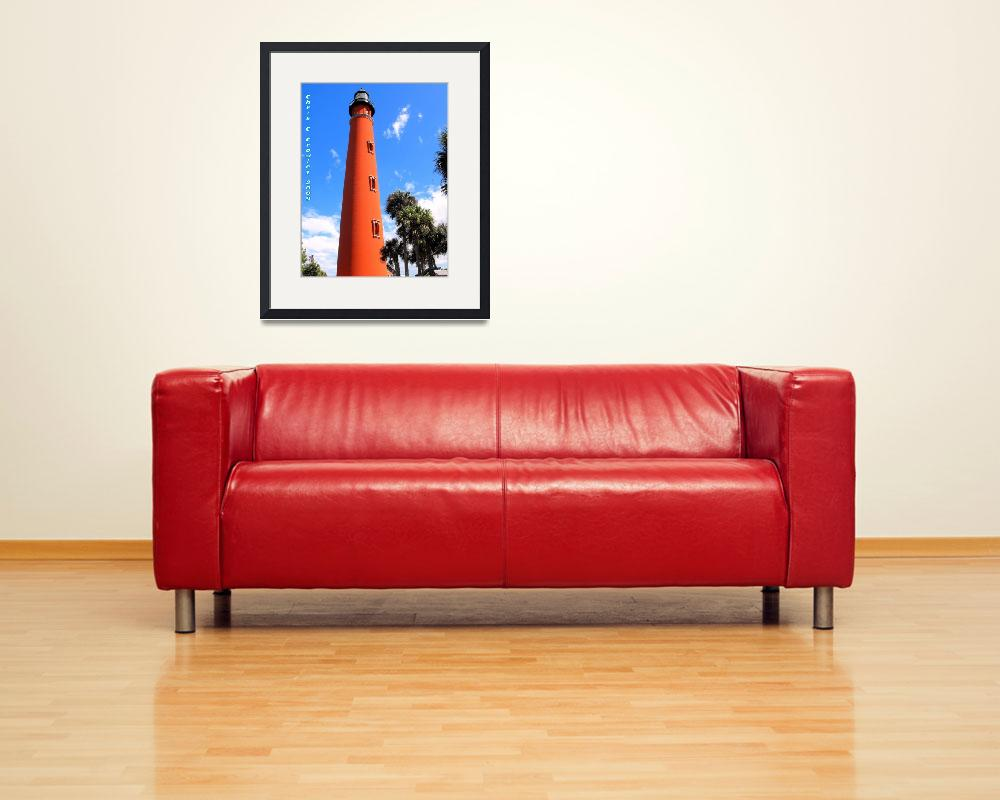 """""""Lighthouse at Ponce""""  (2009) by ChrisCrowley"""