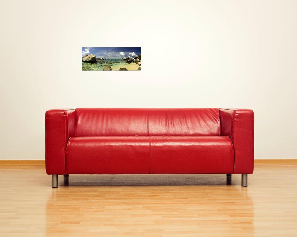 """Virgin Gorda Panorama - ""The Baths""""  (2005) by mbryan777"