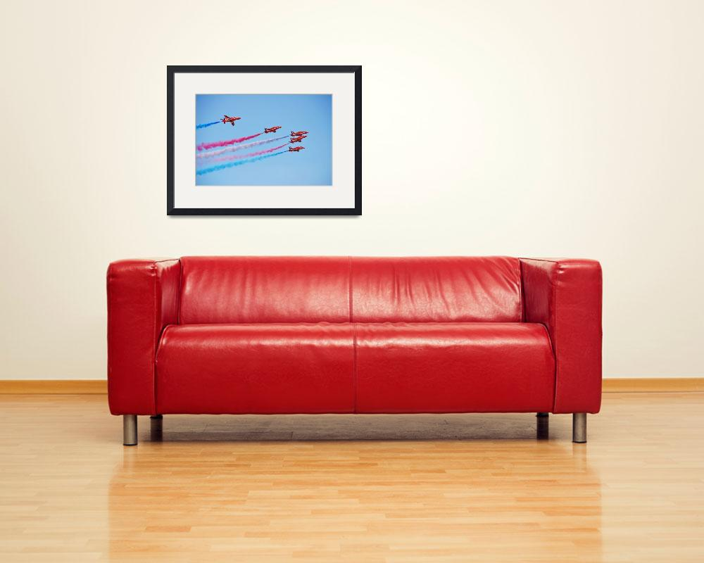 """The Red Arrows&quot  (2012) by DavidFowler"