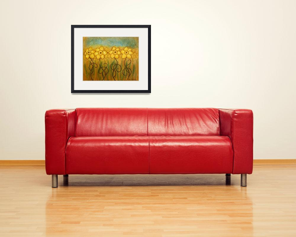 """""""Daffodils&quot  (2009) by dplaisance"""