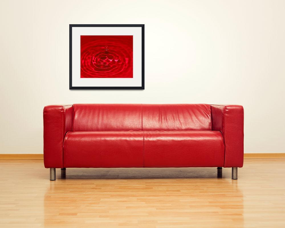 """""""Red Sphere""""  (2009) by shopper"""