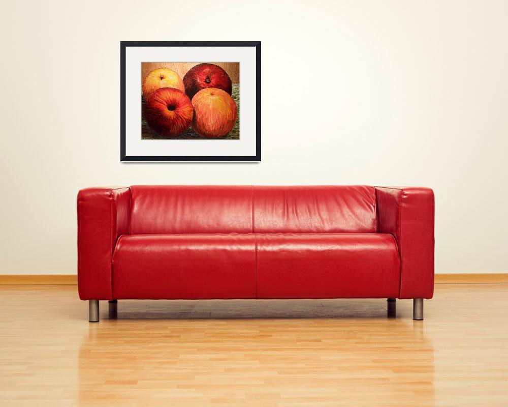 """""""Apples and Oranges""""  (2006) by JoeyAgbayani"""