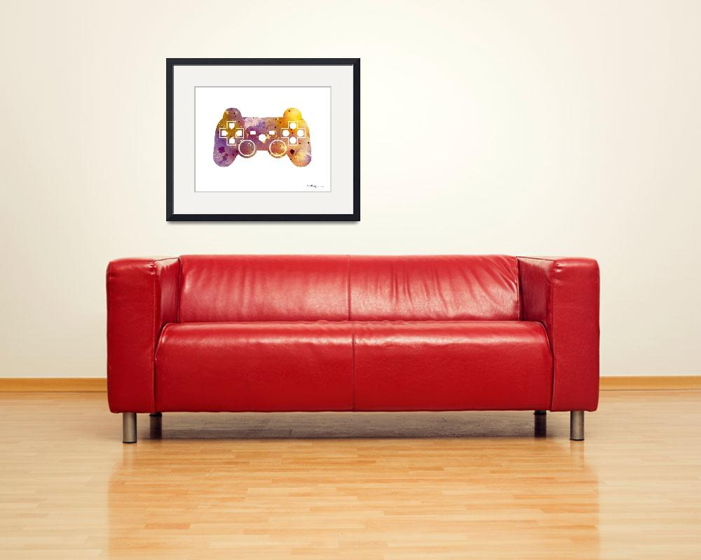 """Game Controller""  (2016) by k9artgallery"