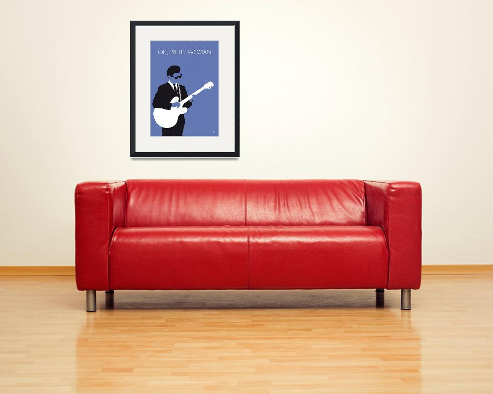 """No158 MY Roy Orbison Minimal Music poster&quot  by Chungkong"