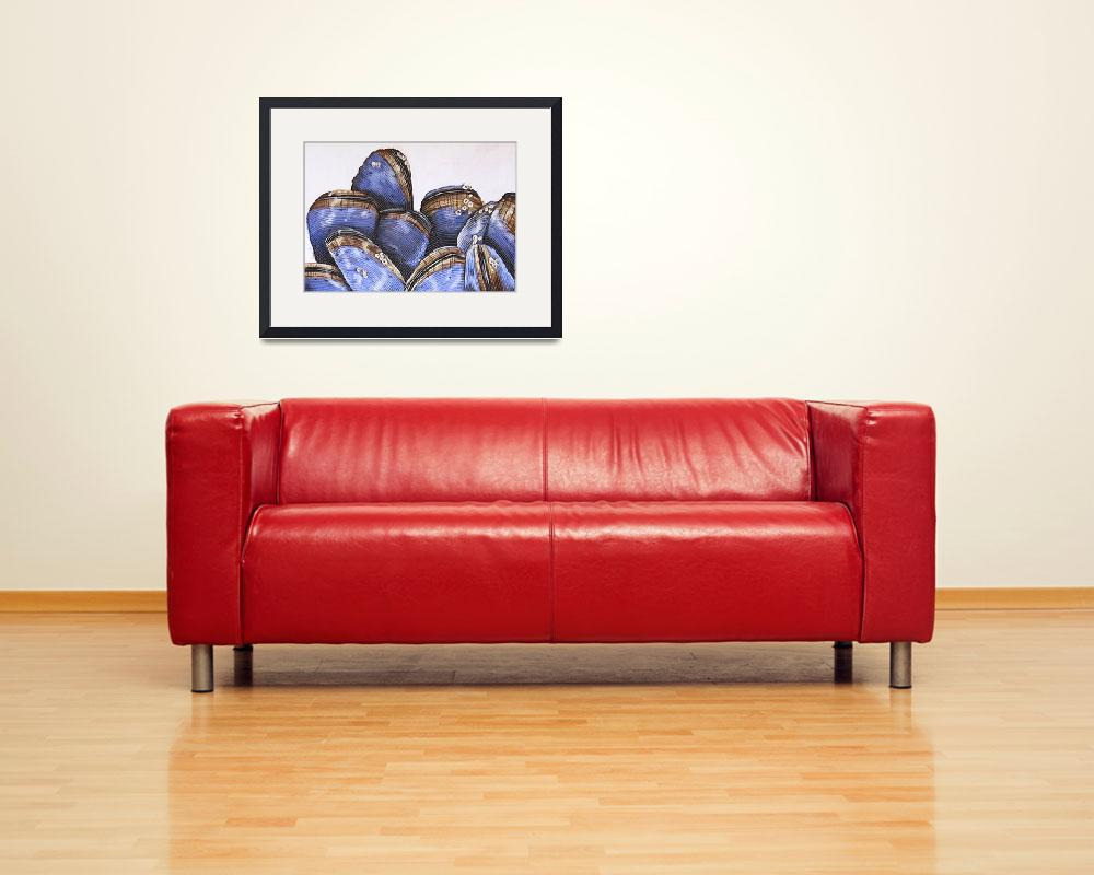 """""""Mussels II&quot  by cathysavels"""