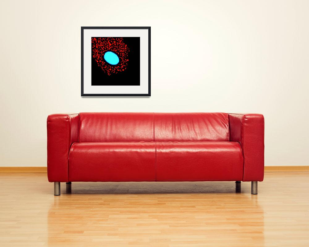 """""""Red Vesicles""""  (2009) by ScienceArtGallery"""