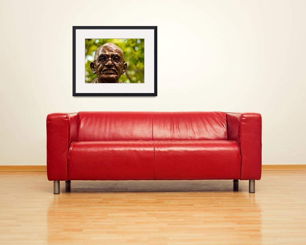 """""""Ghandi&quot  (2009) by armadilo60"""