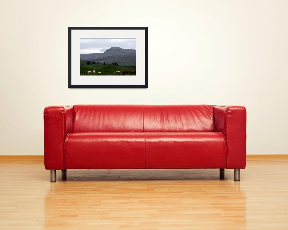"""""""Ingleborough from Kingsdale&quot  by NordenDesign"""