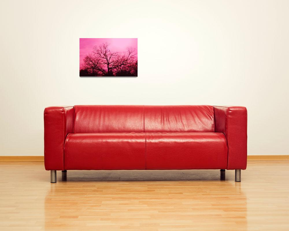 """""""Ponderously Pink&quot  (2012) by DigitalCreations"""