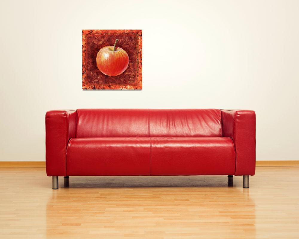 """""""Kitchen Decor Apple by Irina Sztukowski""""  (2016) by IrinaSztukowski"""