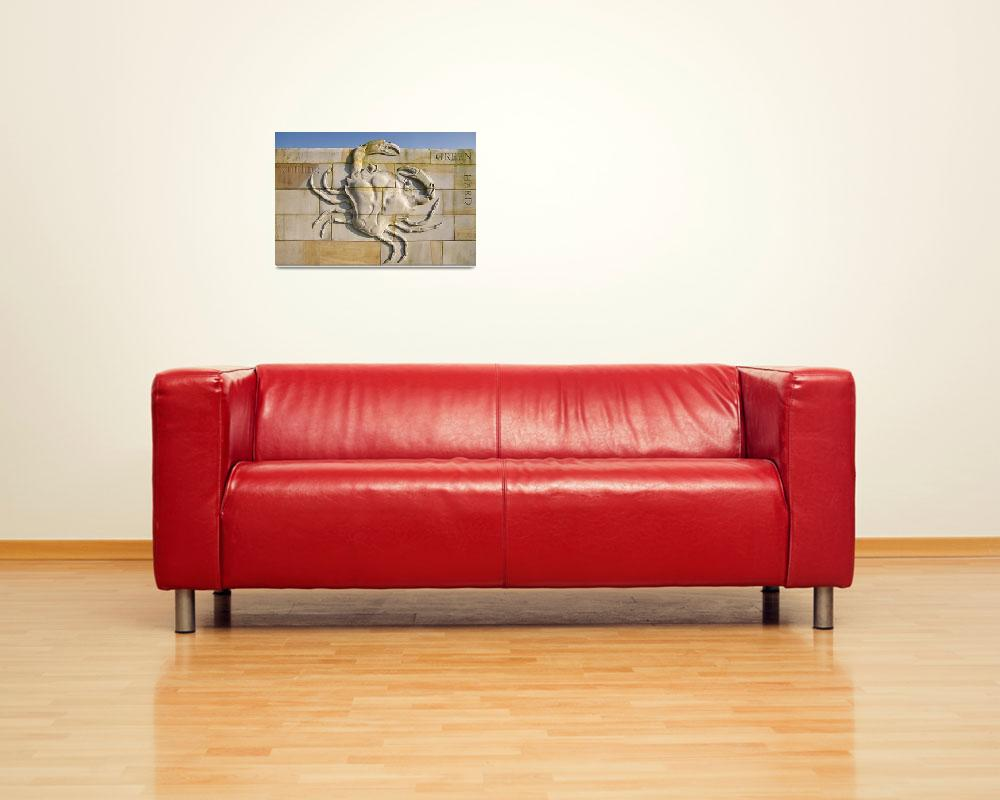 """Inshore Crab-The Artwork""  (2009) by maxblack"