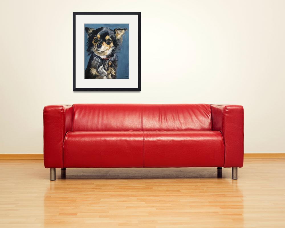 """""""Lucy - a chihuahua&quot  (2008) by kelliestraw"""