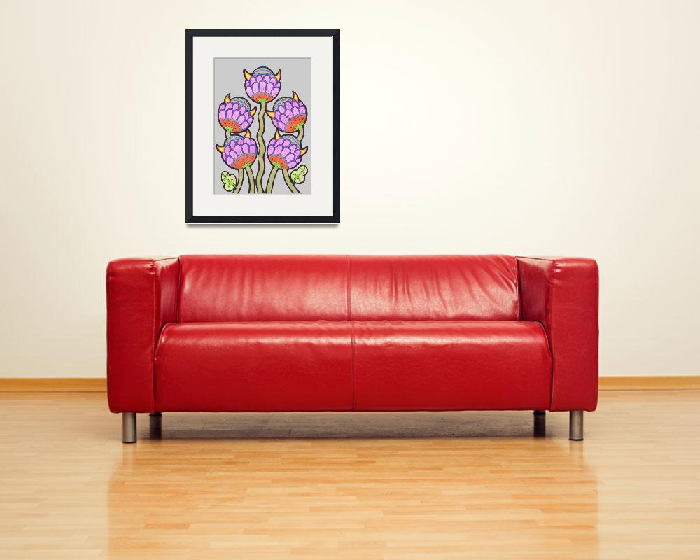 """""""Five Flowers&quot  (2012) by IanGMclean"""