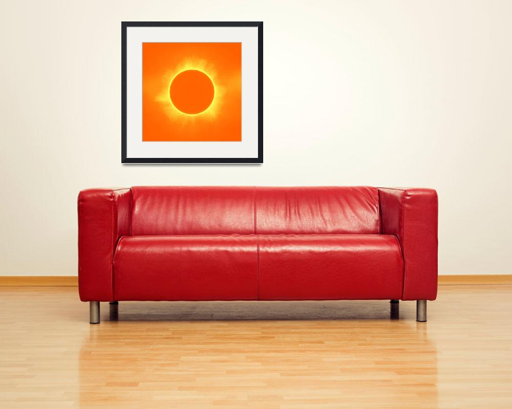"""""""Solar Eclipse in Daffodil color&quot  by motionage"""