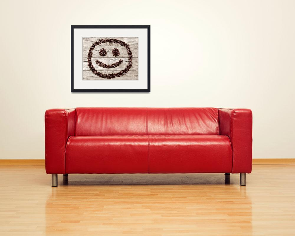 """Happy Java Face&quot  (2014) by LukeMoore"